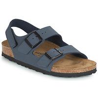 Boty Chlapecké Sandály Birkenstock MILANO HL Tmavě modrá