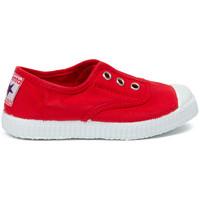 Boty Děti Tenis Cienta Chaussures en toiles bébé  Tintado rouge