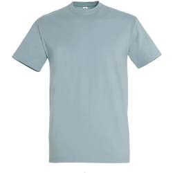 Textil Ženy Trička s krátkým rukávem Sols IMPERIAL camiseta color azul glaciar Azul