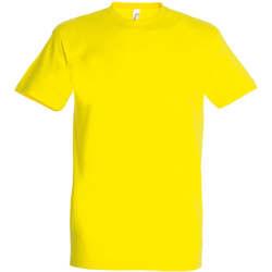 Textil Ženy Trička s krátkým rukávem Sols IMPERIAL camiseta color Limón Amarillo