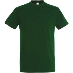 Textil Ženy Trička s krátkým rukávem Sols IMPERIAL camiseta color Verde Botella Verde