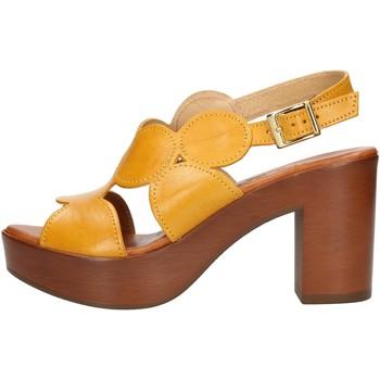 Boty Ženy Sandály Made In Italia 023 Žlutá