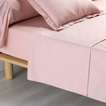 Bydlení Prostěradlo Douceur d intérieur PERCALINE Růžová