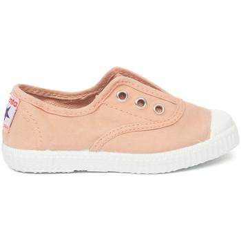 Boty Děti Tenis Cienta Chaussures en toiles bébé  Tintado rose clair