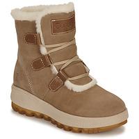 Boty Ženy Zimní boty Casual Attitude NAREIGNE Béžová