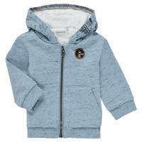 Textil Chlapecké Svetry / Svetry se zapínáním Ikks AZUR Modrá