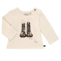 Textil Dívčí Trička s dlouhými rukávy Ikks PAON Bílá