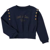 Textil Dívčí Mikiny Ikks GRENAT Tmavě modrá
