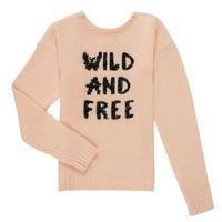 Textil Dívčí Svetry Ikks ISABELLE Růžová