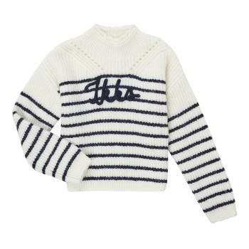 Textil Dívčí Svetry Ikks CITRON Bílá
