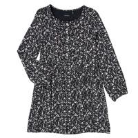 Textil Dívčí Krátké šaty Ikks MALACHITE Černá