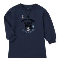 Textil Dívčí Krátké šaty Ikks MANDARINE Tmavě modrá