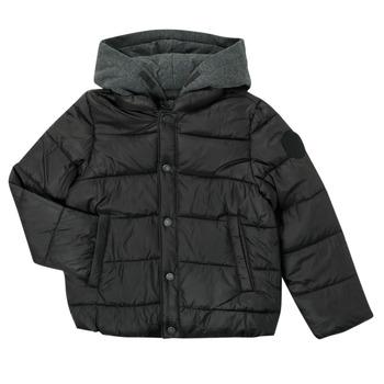 Textil Chlapecké Prošívané bundy Ikks CORAIL Černá