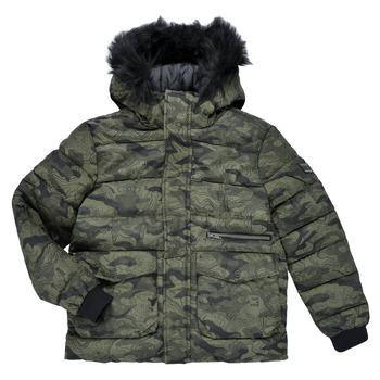 Textil Chlapecké Bundy Ikks EMERAUDE Khaki