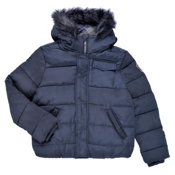Textil Chlapecké Prošívané bundy Ikks MAGENTA Tmavě modrá