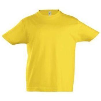 Textil Děti Trička s krátkým rukávem Sols Camista infantil color Amarillo Amarillo