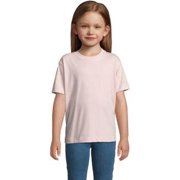Textil Děti Trička s krátkým rukávem Sols Camista infantil color Rosa médio Rosa