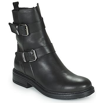 Boty Ženy Kotníkové boty Minelli PAULINA Černá