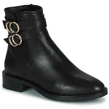 Boty Ženy Kotníkové boty Minelli LISA Černá