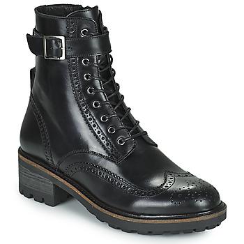 Boty Ženy Kotníkové boty Minelli ALOILA Černá