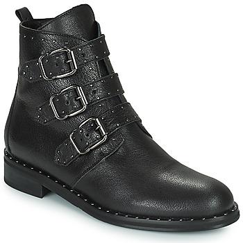 Boty Ženy Kotníkové boty Minelli FRANILLA Černá