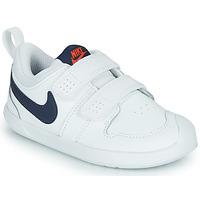 Boty Děti Nízké tenisky Nike NIKE PICO 5 (TDV) Bílá / Modrá