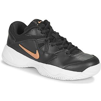 Boty Ženy Nízké tenisky Nike WMNS NIKE COURT LITE 2 Černá / Bronzová