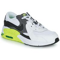 Boty Děti Nízké tenisky Nike NIKE AIR MAX EXCEE (PS) Bílá / Černá