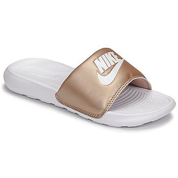 Boty Ženy pantofle Nike W NIKE VICTORI ONE SLIDE Hnědá