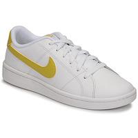 Boty Ženy Nízké tenisky Nike WMNS NIKE COURT ROYALE 2 Bílá / Zlatá