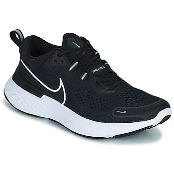 Boty Muži Běžecké / Krosové boty Nike NIKE REACT MILER 2 Černá / Bílá