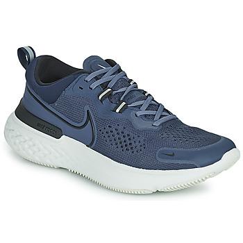 Boty Muži Běžecké / Krosové boty Nike NIKE REACT MILER 2 Modrá