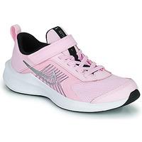 Boty Děti Běžecké / Krosové boty Nike NIKE DOWNSHIFTER 11 (PSV) Růžová / Šedá