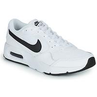 Boty Děti Nízké tenisky Nike NIKE AIR MAX SC (GS) Bílá / Černá