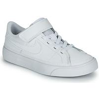 Boty Děti Nízké tenisky Nike NIKE COURT LEGACY (PSV) Bílá