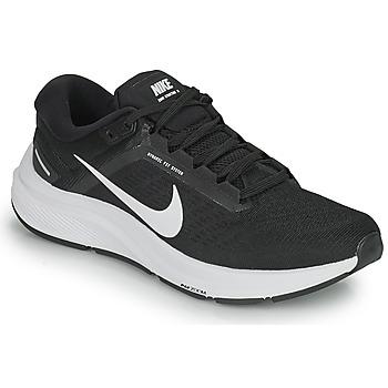 Boty Muži Běžecké / Krosové boty Nike NIKE AIR ZOOM STRUCTURE 24 Černá / Bílá
