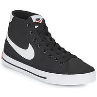 Boty Ženy Nízké tenisky Nike W NIKE COURT LEGACY CNVS MID Černá / Bílá