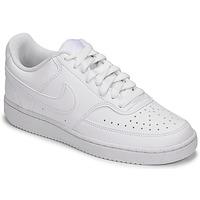Boty Ženy Nízké tenisky Nike W NIKE COURT VISION LO NN Bílá