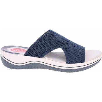 Boty Ženy Dřeváky Jana Dámské pantofle  8-27228-26 navy Modrá