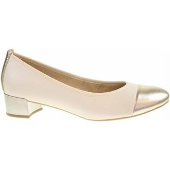 Boty Ženy Lodičky Caprice Dámské lodičky  9-22300-26 cream-lt gold Béžová