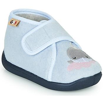 Boty Děti Papuče GBB APOCHOU Modrá