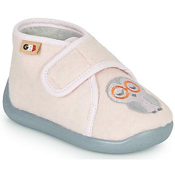 Boty Dívčí Papuče GBB APOCHOU Růžová