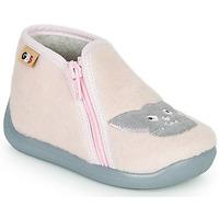 Boty Dívčí Papuče GBB APOPOTAM Růžová