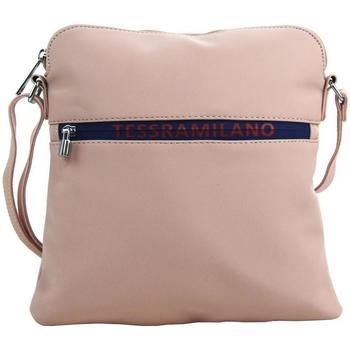 Taška Ženy Kabelky  Maria Marni Sportovní crossbody dámská textilní kabelka 5329-BB růžová růžová