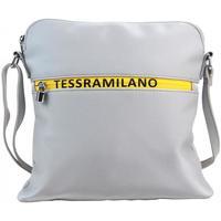 Taška Ženy Kabelky  Maria Marni Sportovní crossbody dámská textilní kabelka 5329-BB stříbrná stříbrná
