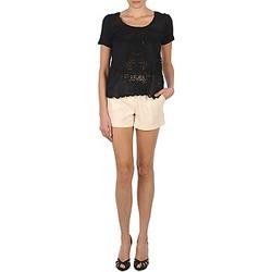 Textil Ženy Kraťasy / Bermudy Stella Forest YSH003 Krémově bílá