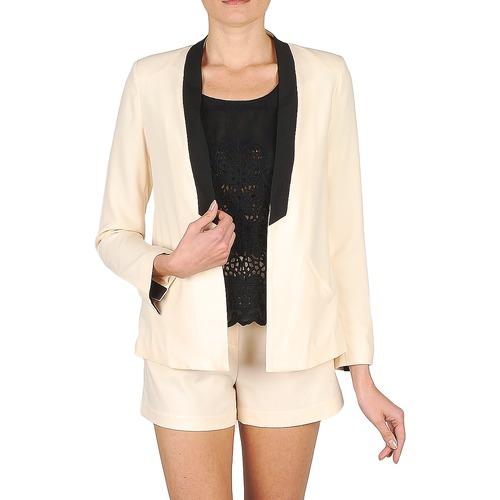 Textil Ženy Saka / Blejzry Stella Forest YVE005 Krémově bílá