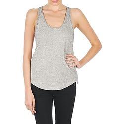 Textil Ženy Tílka / Trička bez rukávů  Stella Forest YDE019 Krémově bílá