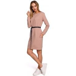 Textil Ženy Krátké šaty Moe M591 Kalhoty Cargo Pocket Joggers - černé