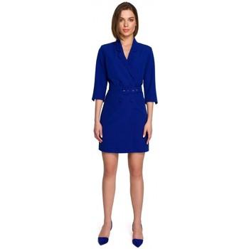 Textil Ženy Krátké šaty Style S255 Kalhoty s rozhalenkami - černé